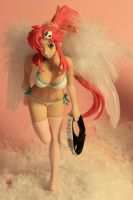 Xmas - Angels - Yoko from TTGL by seviesphere