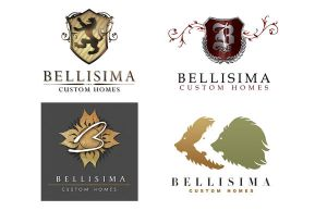 Bellisima Logo Designs by jeff051477