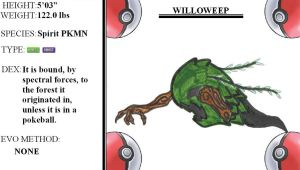 FAKEMON WILLOWEEP -46- by mssingno