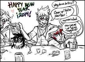 Will the New years ever end? by KingNeroche