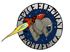 Space Elephant (from Africa) by Jedni