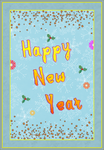 Card - Happy New Year by fmr0