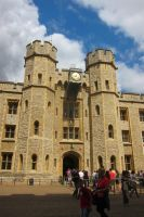 LONDON - Tower of London Jewels building by elodie50a