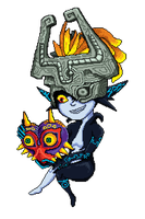 Midna found a thing! by TAG-Nadia