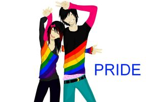 PRIDE by deaththechick101