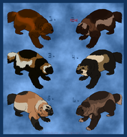 Wolverine Adoptables - Open by mimmiley