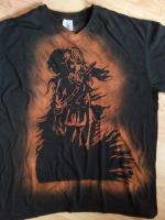 Link and Dark Link Bleached Tshirt by Phanron