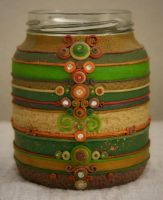 Polymer Clay Jar2 by bgerr