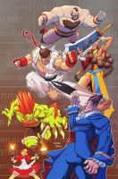 Streetfighter vs Darkstalkers 3 by mikebowden