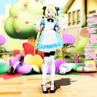 {MMD} Alice UPDATE VER. 2.0 by EchoStrike7034
