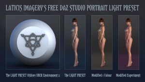 LI FREE - DAZ Studio Light Preset by Laticis