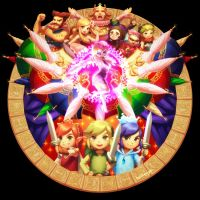 TRI FORCE HEROES by bellhenge