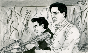 Ulmer and Donowitz Open Fire by JennHolton