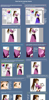 Coloring Tutorial Version 2 by heartandbonebreaker