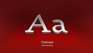 Fontcase wallpaper by optiv-flatworms