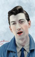 Alex Turner by Essinvrok