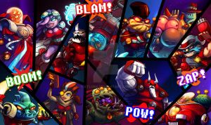 Awesomenauts~ Awesome Wallpaper by Atluss
