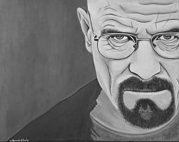 Walter White Breaking Bad by nandamicole