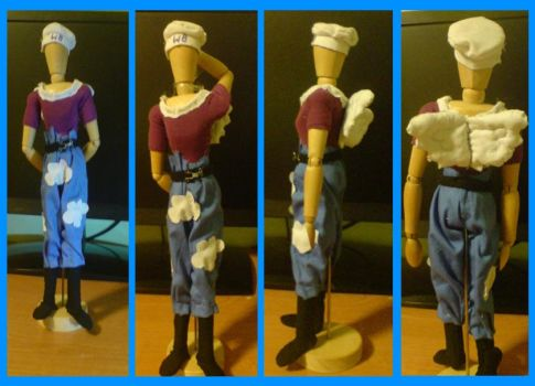 White Beret 2nd Commando - One Piece :) by Aranel-Inglorion