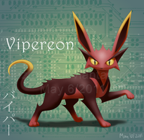 Vipereon :Fan Pokemon: by BlazeTBW