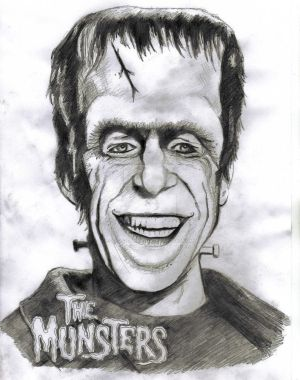 The Munsters  - Herman Munster by astrozombie1313