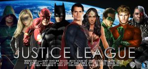 Justice League - Poster (Fan-Made) by Zedkate