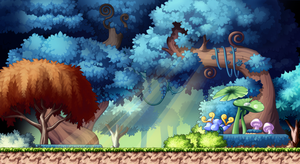 MapleStory Backgrounds - Enchanted Forest by Akarituturu