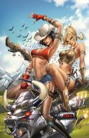 Zenescope's Calgary Expo 2013 exclusive cover by jamietyndall