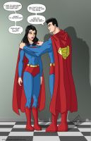 Superwoman 3 - commisison by mhunt