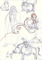 Loki child: random sketches by Unita-N