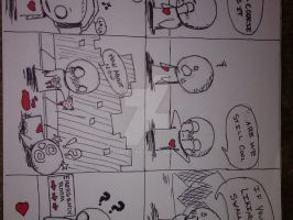 Anime comic strips 2 by DamCee