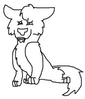 Free Wolf Lineart by snails1000