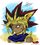 Atem YGO by SilverDrawing88