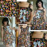 snack time bow dress by BambiBlast