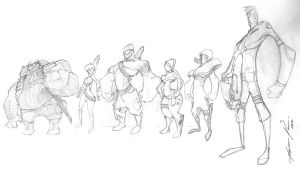 characters Diel concept by Wagnr