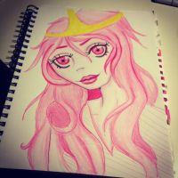 Princess Bubblegum by pointy-bras-hurt