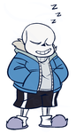 sans doodle by EarthGwee