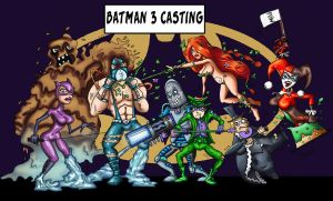 Batman 3 -Villains's Casting- by Ericmaniac