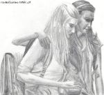 Brittana Scene From Rumours by rosabelledraws