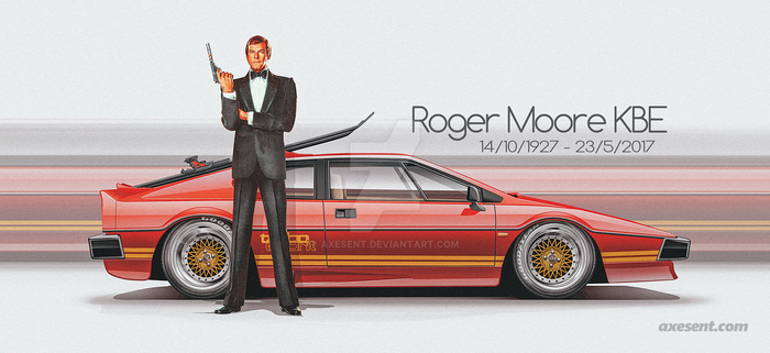 Roger Moore Lotus by Axesent