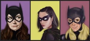 A Batgirl Triptych by talkingcookie