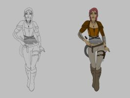 Tael of the Red Wastes - PROGRESS WIP by GabrielleDace