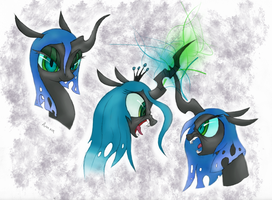 Queen Meanies by MartianSketchPones