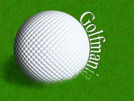 GolfBall by paskoff