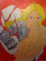 Edward Elric by theartistnoe