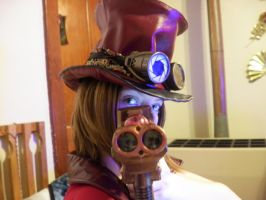 Steampunk: Boom, Headshot by Saukra13sasukelover