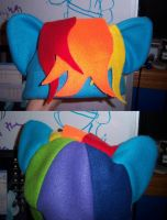 Rainbow dash hat by Wolferahm