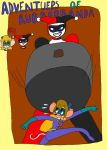 Adventuers of Rubberbanda #1 Cover page by Ginzo25