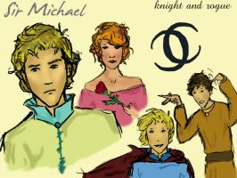 Sir Michael Sevenson by Darkliss
