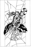 Spider-Man by Bagley by ChucktheTracer